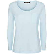 Buy Jaeger Jersey Pocket Detail Top Online at johnlewis.com