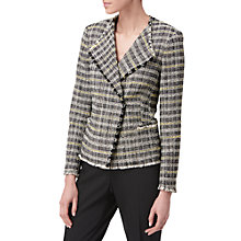 Buy L.K. Bennett Thea Check Tweed Jacket, Multi Online at johnlewis.com