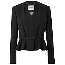 Buy L.K. Bennett Judi Hemmers Jacket, Black Online at johnlewis.com
