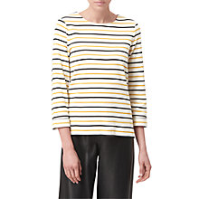 Buy L.K. Bennett Tamsin Stripe Jersey Top, Multi Online at johnlewis.com