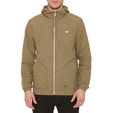 Buy Original Penguin Waxed Festival Jacket, Burnt Olive Online at johnlewis.com