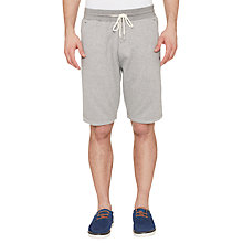 Buy Original Penguin Tricolour Mouline Sweat Shorts, Dark Shadow Online at johnlewis.com