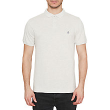 Buy Original Penguin Pique Polo Shirt, Moonbeam Heather Online at johnlewis.com