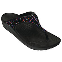 Buy Crocs Sloane Embellished Flip Flops Online at johnlewis.com