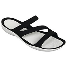 Buy Crocs Swiftwater Triple Strap Sandals Online at johnlewis.com