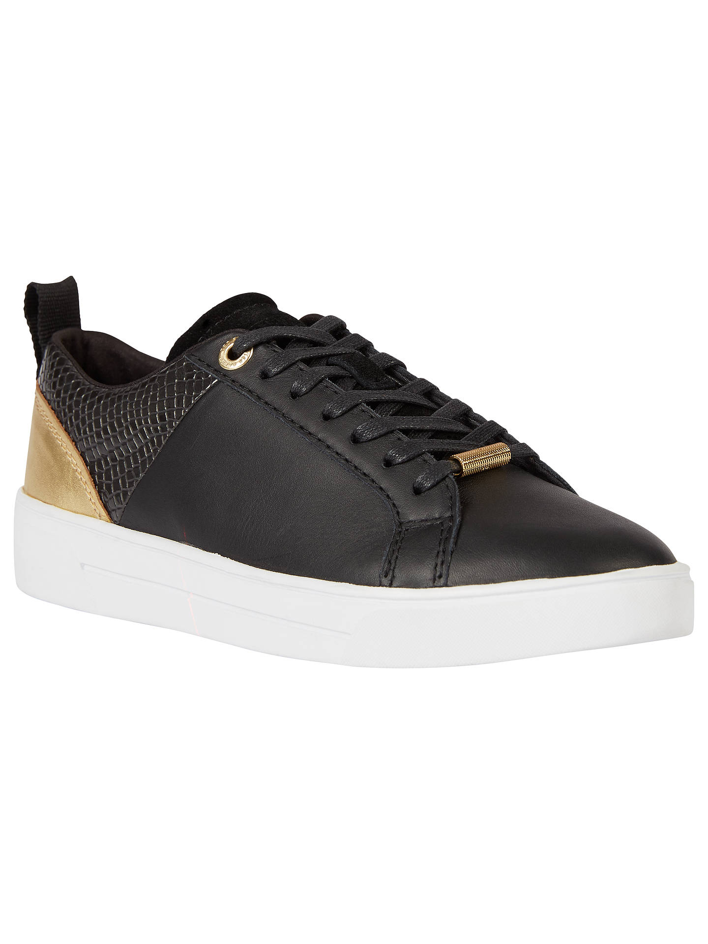 78e47cb9ce75b5 Ted Baker Kulei Lace Up Trainers at John Lewis   Partners