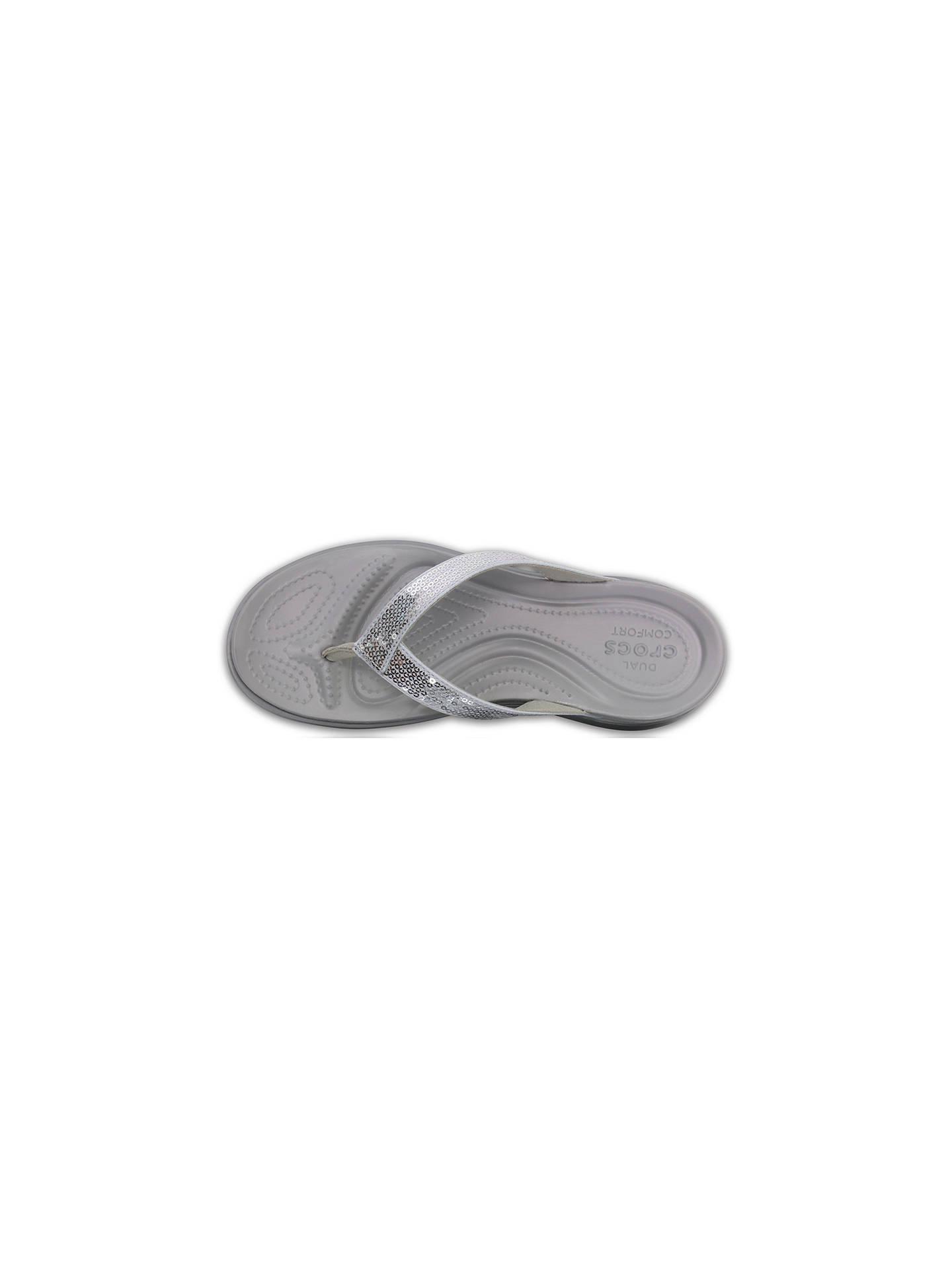 5035615bf35 ... Buy Crocs Capri V Sequin Flip Flops
