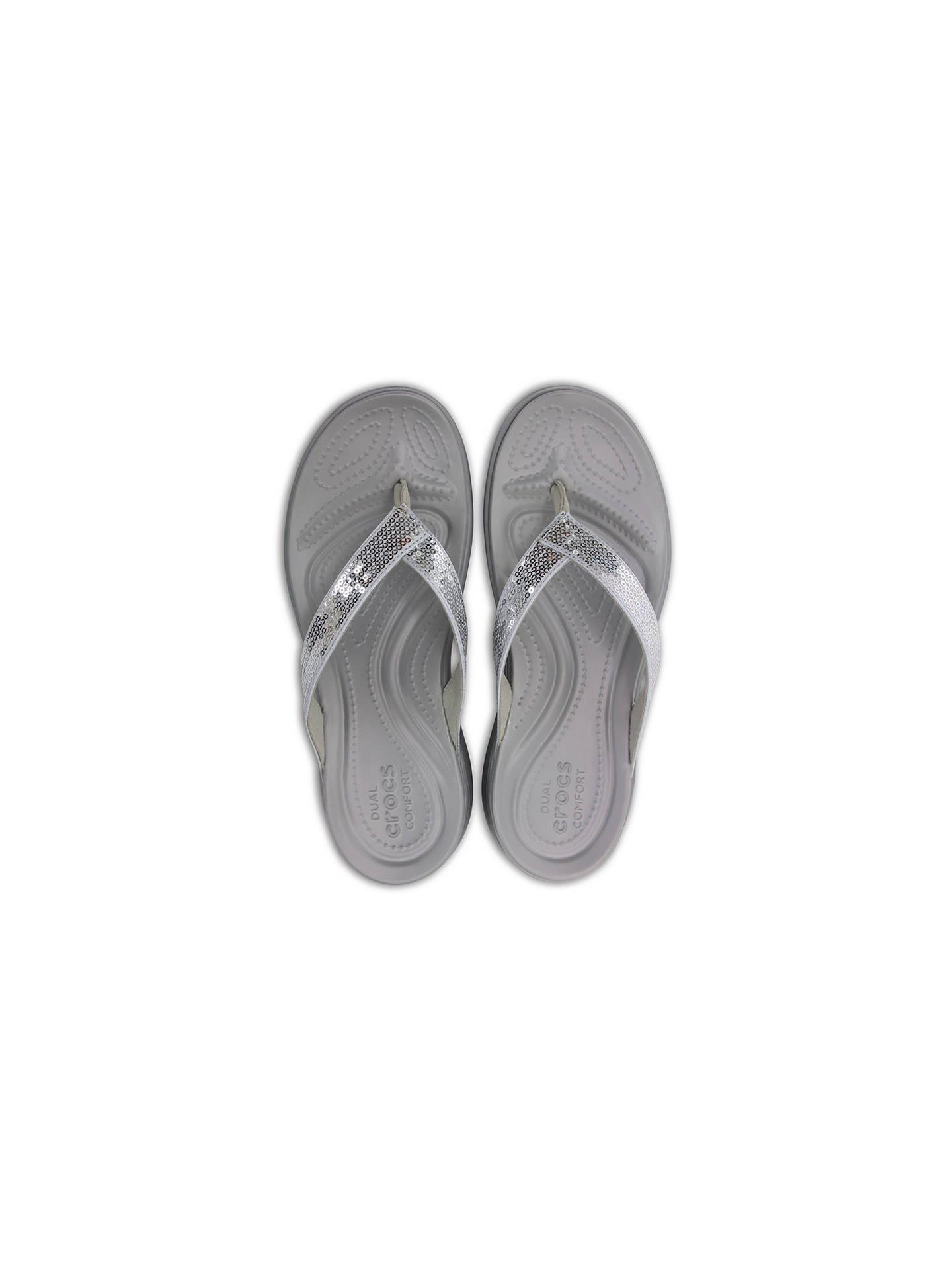 9b0026e6bab8 ... Buy Crocs Capri V Sequin Flip Flops