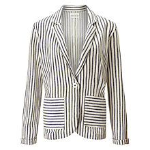 Buy Harris Wilson Calista Stripe Blazer, Marine/Ecru Online at johnlewis.com