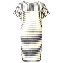 Buy Harris Wilson Calin Stripe Dress, Ecru/Marine Online at johnlewis.com