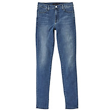Buy J Brand Maria High Rise Skinny Jeans, Syracuse Online at johnlewis.com