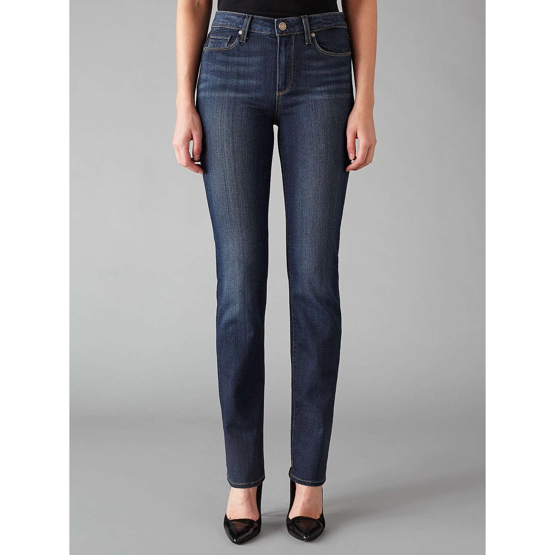 Paige Hoxton Straight Leg Jeans, Nottingham at John Lewis