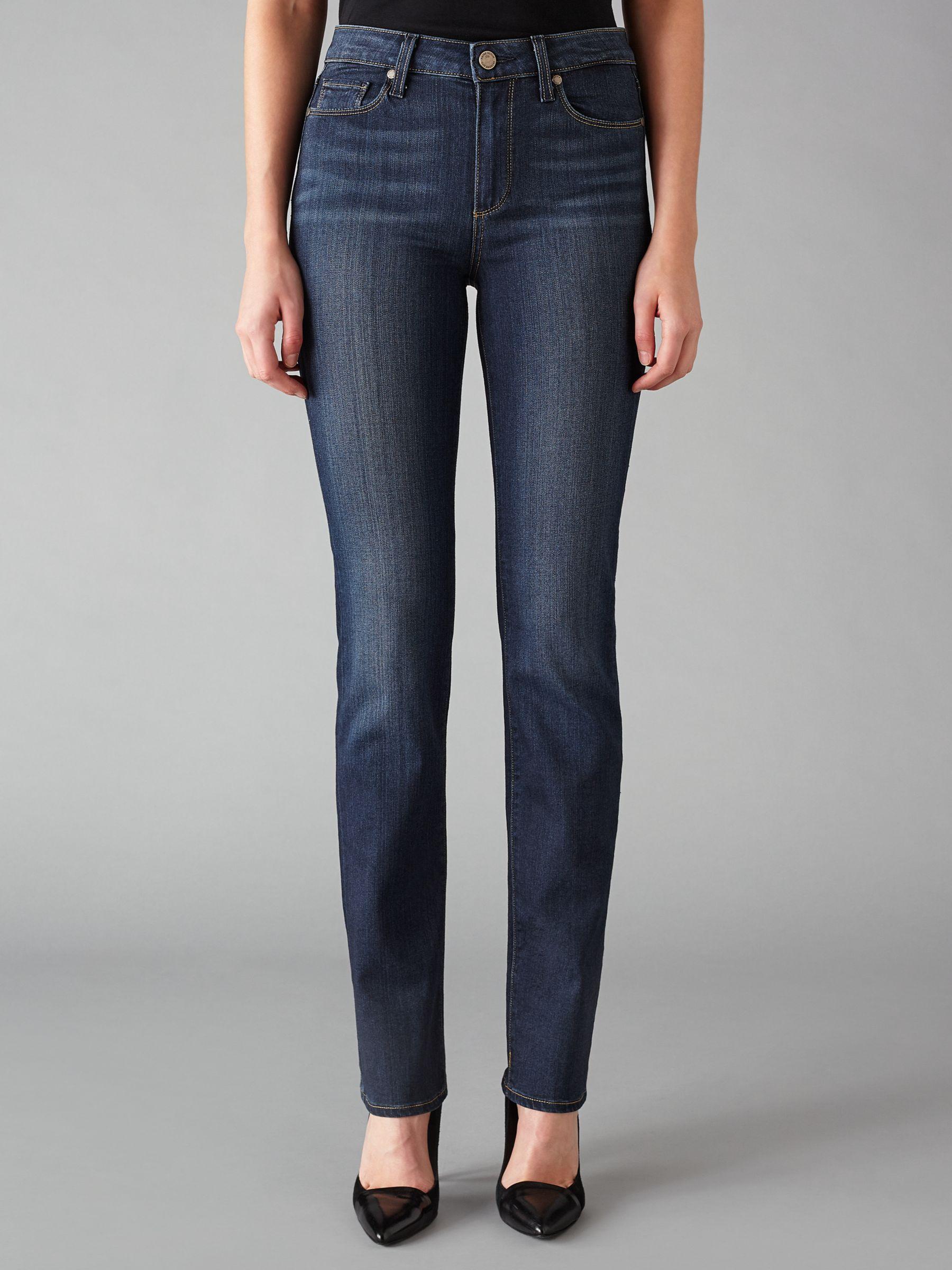 Paige Paige Hoxton Straight Leg Jeans, Nottingham