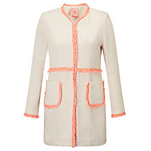 Buy Vilagallo Megan Jacket, Cream/Orange Online at johnlewis.com