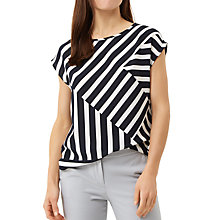 Buy Fenn Wright Manson Petite Bordeaux Stripe Top, Multi Online at johnlewis.com