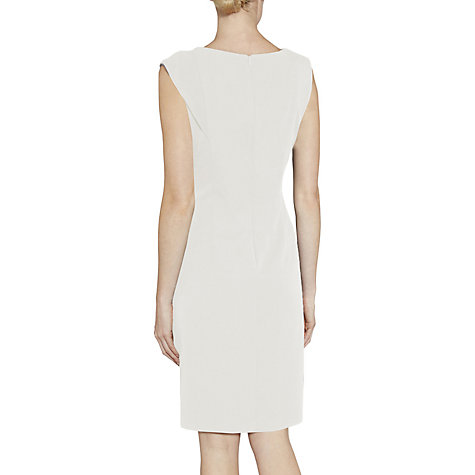 Buy Gina Bacconi Moss Crepe Dress With Waist Detail Online at johnlewis.com