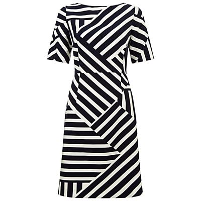 Fenn Wright Manson Bordeaux Dress, Bordeaux Stripe