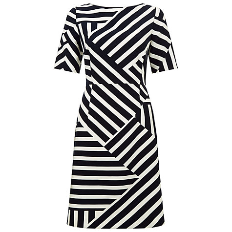 Buy Fenn Wright Manson Bordeaux Dress, Bordeaux Stripe Online at johnlewis.com