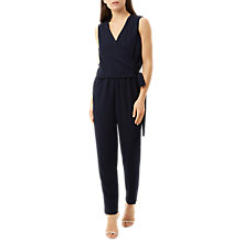 Buy Fenn Wright Manson Petite Antwerp Jumpsuit, Navy Online at johnlewis.com