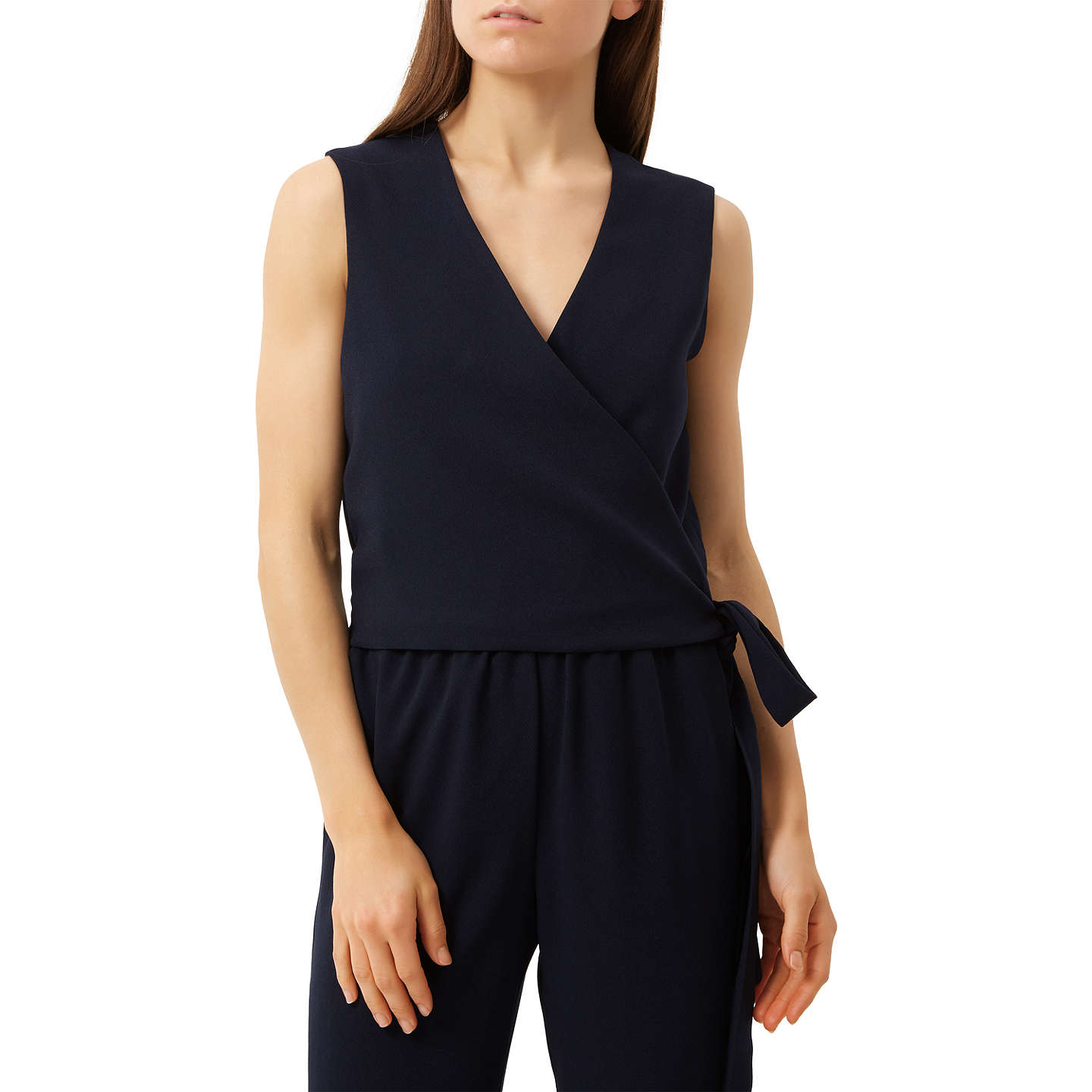 BuyFenn Wright Manson Petite Antwerp Jumpsuit, Navy, 8 Online at johnlewis.com