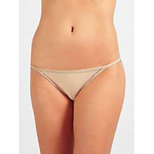 Buy Calvin Klein Underwear Sheer Marquisette Bikini Briefs Online at johnlewis.com