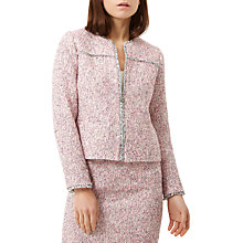 Buy Fenn Wright Manson Petite Bruges Jacket, Pink Tweed Online at johnlewis.com
