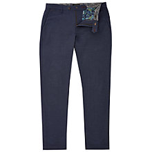 Buy Ted Baker Clydesy Mini Design Trousers, Navy Online at johnlewis.com
