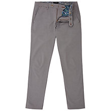 Buy Ted Baker Clydesy Mini Design Trousers, Grey Online at johnlewis.com