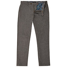 Buy Ted Baker Classy Classic Fit Cotton Trousers Online at johnlewis.com