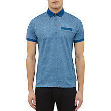 Buy Ted Baker Teller Mouline Cotton Polo Shirt Online at johnlewis.com
