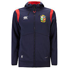 Buy Canterbury of New Zealand British and Irish Lions Thermoreg Full Zip Hoodie, Blue Online at johnlewis.com