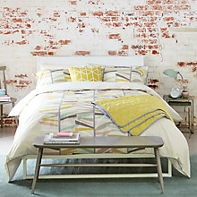 Buy Scion Tetra Cotton Bedding Online at johnlewis.com