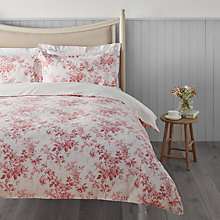 Buy Cabbages & Roses Vintage Alderney Print Cotton and Linen Bedding Online at johnlewis.com