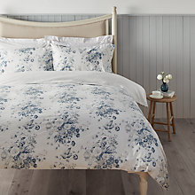 Buy Cabbages & Roses Vintage Constance Print Cotton and Linen Bedding Online at johnlewis.com