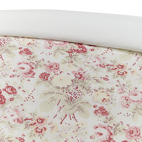 Buy Cabbages & Roses Vintage Francis Print Cotton and Linen Bedding Online at johnlewis.com
