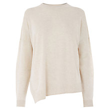 Buy Warehouse Displaced Boxy Hem Jumper Online at johnlewis.com