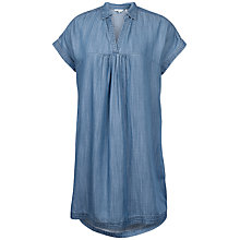 Buy Fat Face Molly Chambray Dress, Blue Online at johnlewis.com