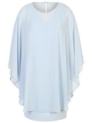 Chesca Cape Dress, Apple Mist Blue