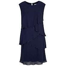 Buy Chesca Multi Layered Dress With Beaded Trim Online at johnlewis.com