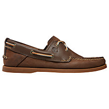 Buy Timberland EK Heritage Boat 2 Shoes, Brown Online at johnlewis.com
