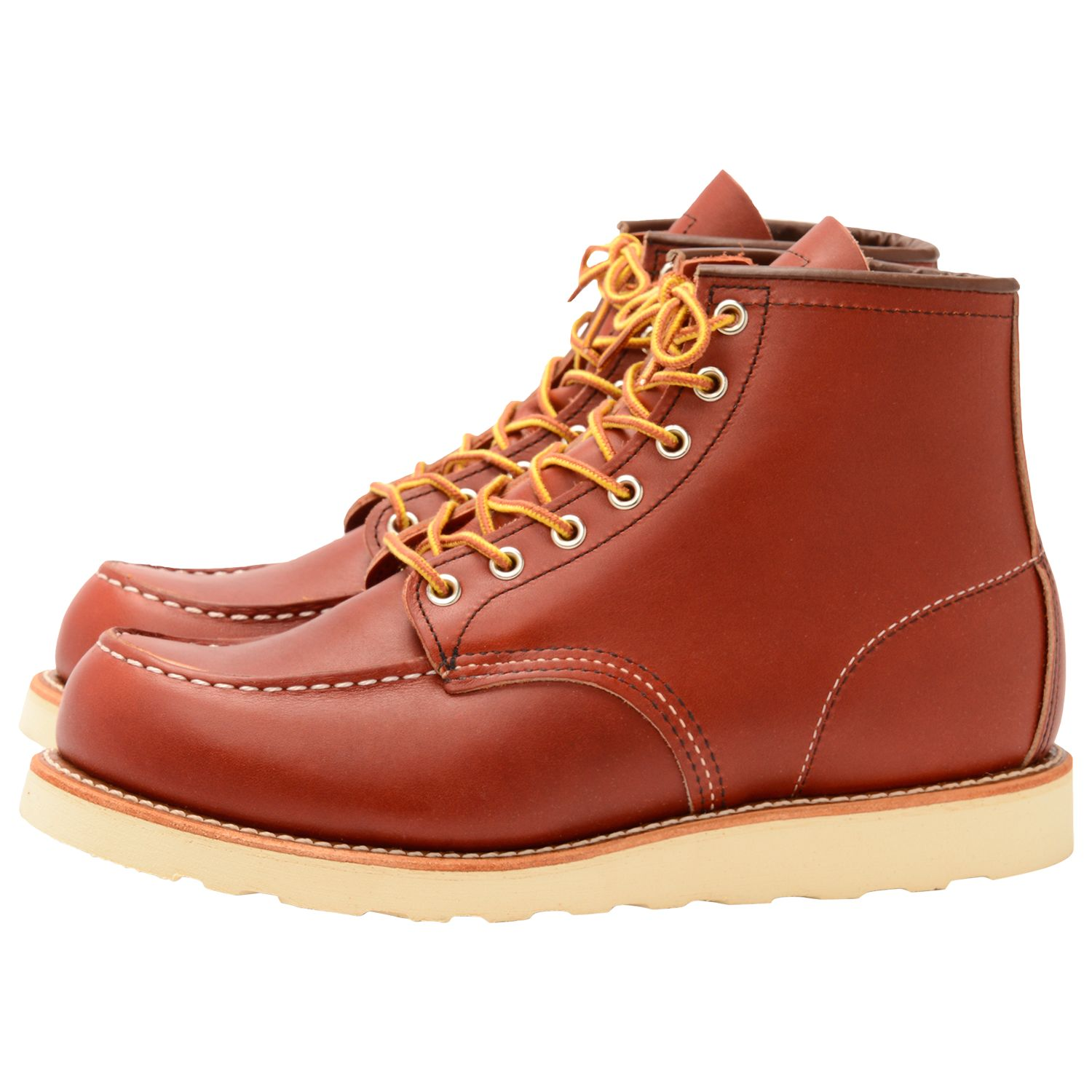 Red Wing Red Wing 8131 Moc Oro-russet Portage Toe Boot, Red
