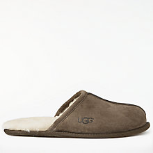 Buy UGG Scuff Mule Suede Slippers, Espresso Online at johnlewis.com