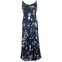 Buy Chesca Fan Print Devoree Dress, Navy Online at johnlewis.com