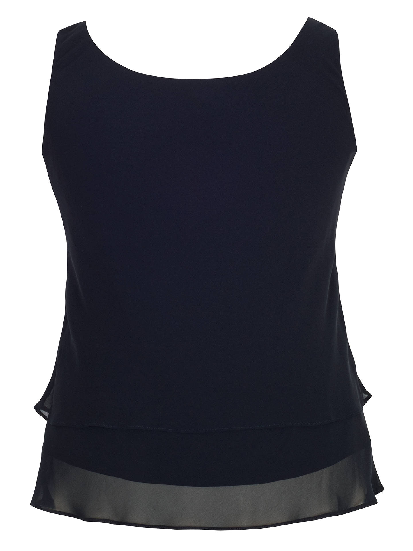 BuyChesca Double Layer Cami, Dark Navy, 14 Online at johnlewis.com