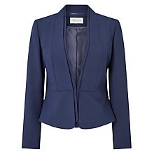 Buy Precis Petite Sandy Tailored Jacket, Navy Online at johnlewis.com