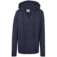 Buy Fat Face Anika Hoodie, Navy Online at johnlewis.com