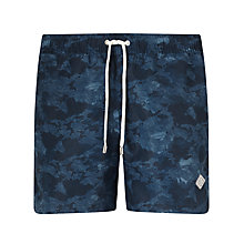 Buy J. Lindeberg Banks Print Swim Shorts, Navy Online at johnlewis.com