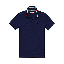 Buy Hilfiger Denim Trim Collar Polo Shirt Online at johnlewis.com