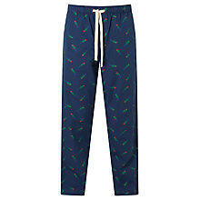 Buy John Lewis Parrot Print Lounge Pants, Blue Online at johnlewis.com