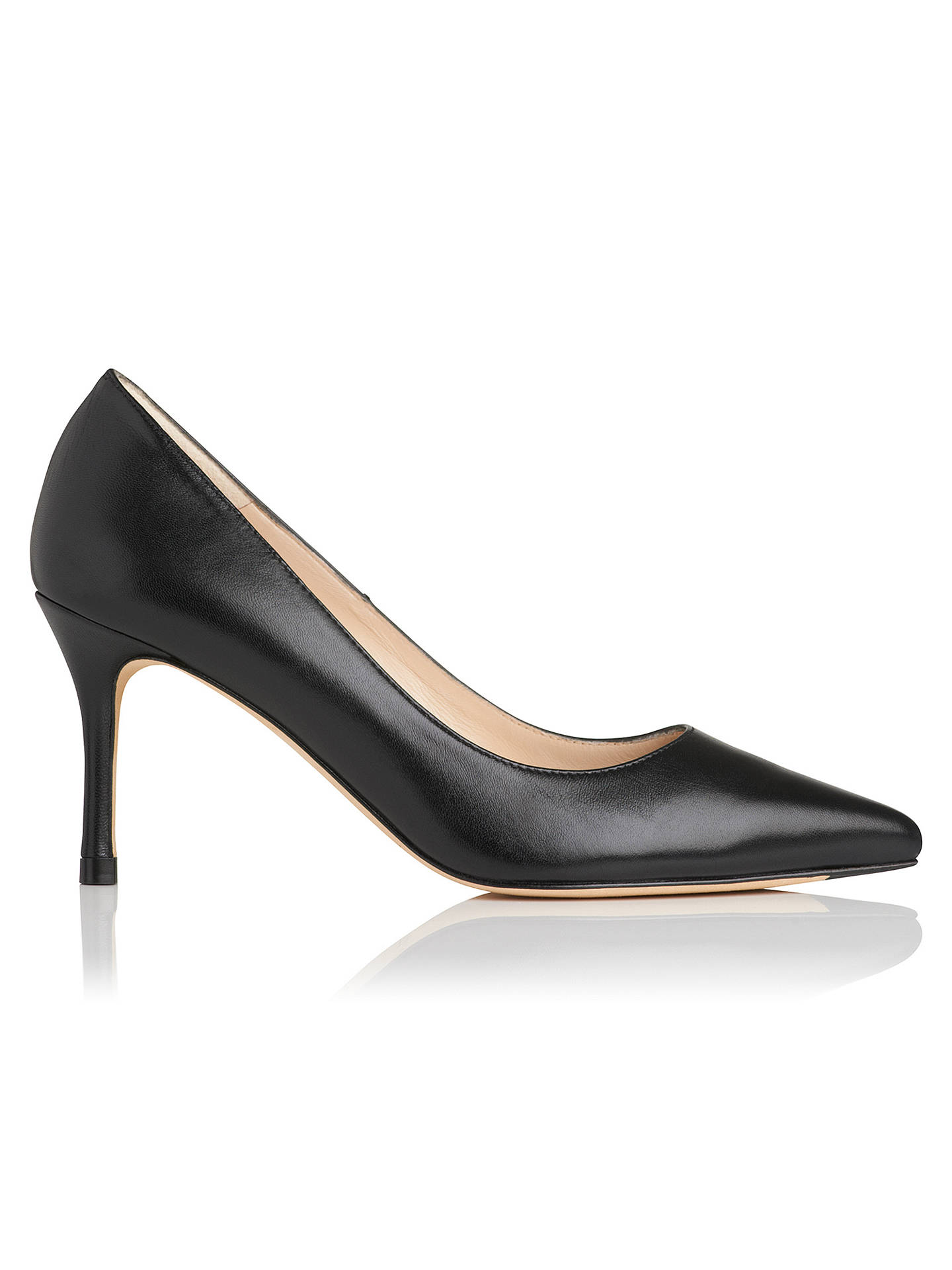 2f02f1cb164 L.K. Bennett Bianca Pointed Toe Court Shoes at John Lewis & Partners